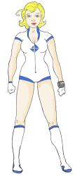 Invisible Woman / Sue Storm Redesign by JohnConklin