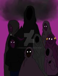 Welcome To Night Vale-Hooded Figures Squad by AnnieManga