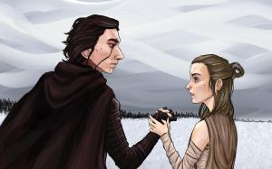 ReyLo by Scythe-Sugar-Static
