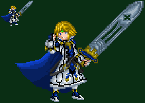 Holy Order's, King Ky Kiske by axem-slayer-345