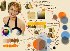 Andrew Loomis - Art Master Colour Study - #001 by anime-master-96