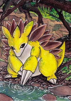 Sandslash by Antaie