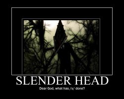 Slender Head by Ink-tail