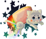 Nyan Cat by 3o2