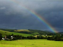 Arc over Moniaive by tartanink
