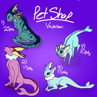 CLOSED Vaporeon Adopts! by SpaceDrip