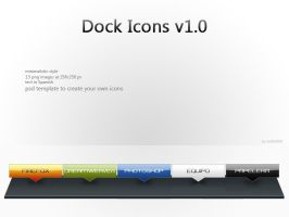 Dock Icons v1.0 by andrei030