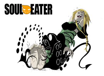 Medusa Soul Eater Tickled by PawFeather