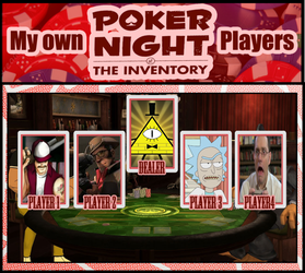 My Poker Night At The Inventory Players by BurningEagle171340