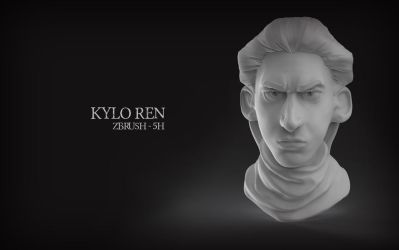 Kylo Rendering 2016 by eimiko-chan