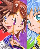 Kingdom Hearts - Bookmarks by KeyshaKitty