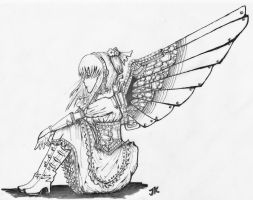 .:Steampunk Angel:. by scaryrabidfangirl