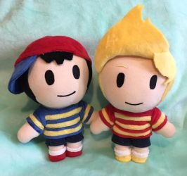 Ness and Lucas by NikkiRiddle