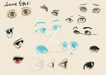 Eyes by pribellafronte