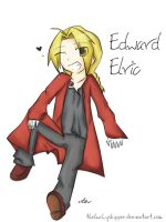 Edward Elric by theluckyshipper