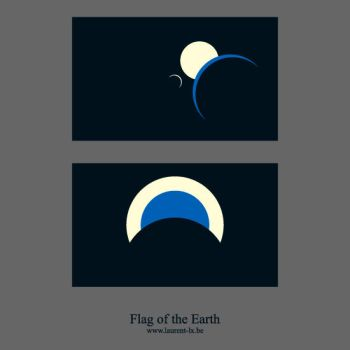 Flag of the Earth by laurent-lx