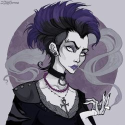 Old School Goth by IrenHorrors