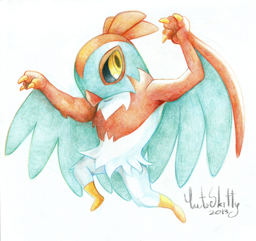 Hawlucha by CuteSkitty