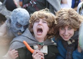 Tasty hobbits by os-cordis
