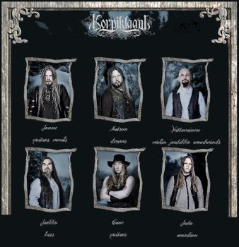 the band by Korpiklaani-fanclub
