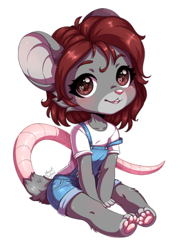 Little mouse by AnnetPeas