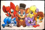 FNAF Babies feat. Cady And Misty by Mittz-The-Trash-Lord