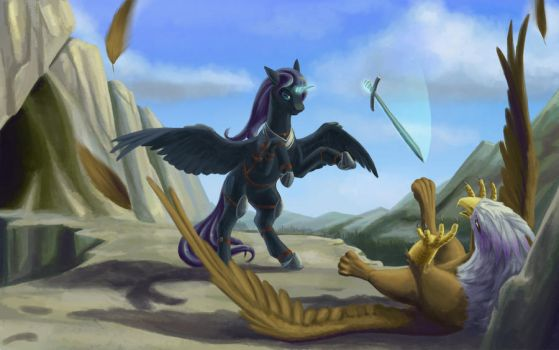 Witcher Nyx vs Ferocious Gilda The Griffin by Beltar1