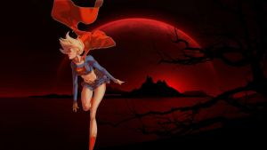 Supergirl Wallpaper - Red Planet 2 by Curtdawg53