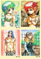For Sale - ACEO cards by Tacaret