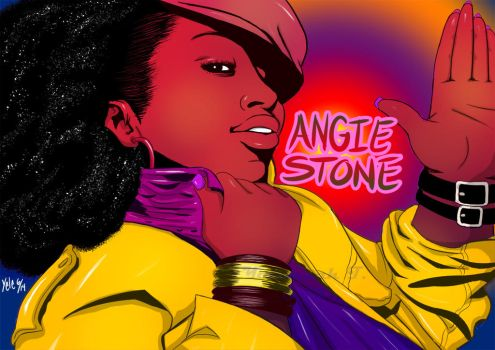 Angie-Stone Cell Shading by Yelbertes