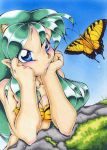 Aliens and butterflies by nk-chan