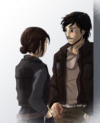 Jyn and Cassian by acidbetta