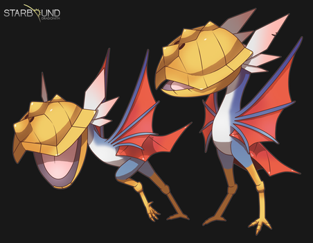 Starbound - Shellbill by Dragonith