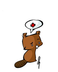 Canadian beaver by SeraphimProphets