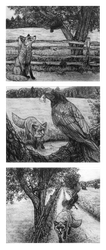 The Fox and The Crow Fable by SucittarSucivron