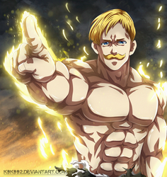 Escanor - Nanatsu No Taizai by k9k992