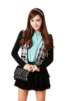 SNSD (Jessica) PNG by yssietwilighter