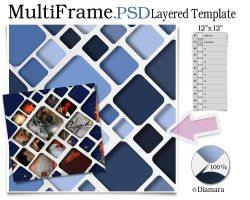MultiFrame Layered Template by Diamara