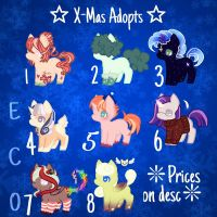 X-MAS ADOPTS (CLOSED) by SpaceBananaZ