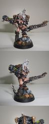 Female Chaos Space Marine 01 by M1keN