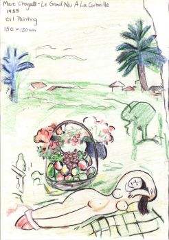 Illustrated biography: Marc Chagall (pt. 2) by Trylledrik