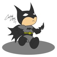 Chibi Batman by Crishark