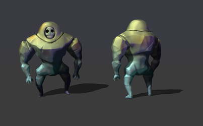 May T2 - Sugar Golem in 3D by GTK666