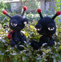 Little Lady Bugs by voodoomaggie
