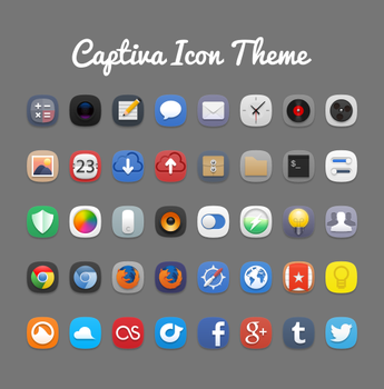 Captiva Icon Theme by bokehlicia