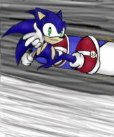 Sonic Salutes You by 0Carkki0