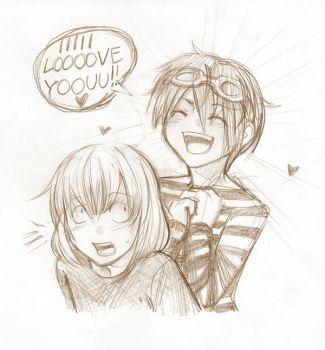 MattMello sketchie for Aldii by Lapis-Razuri