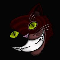 Red Cheshire by SilverPyroLupogryph