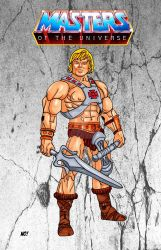 He-Man by nathanobrien