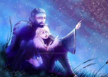 Everett and Iglith:: Star gazers by Herisheft